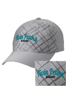 Twin Peaks Middle School Rams Embroidered Mixed Media Cap