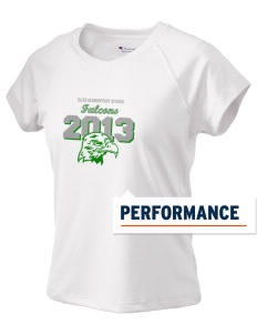 Olive Elementary School Falcons Champion Women's Wicking T-Shirt