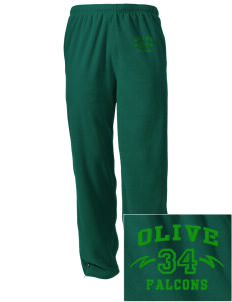 Olive Elementary School Falcons Embroidered Holloway Men's Flash Warmup Pants