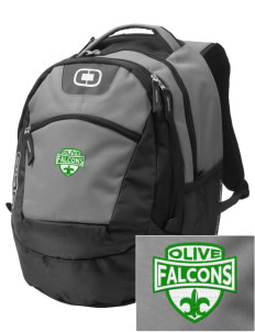 Olive Elementary School Falcons Embroidered OGIO Rogue Backpack