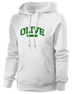 Olive Elementary School Falcons Russell Women's Pro Cotton Fleece Hooded Sweatshirt