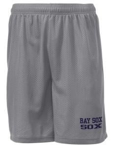 "Bay Sox Sox Men's Mesh Shorts, 7-1/2"" Inseam"