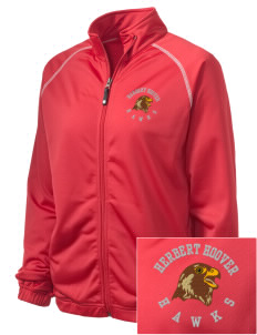 Herbert Hoover Middle School Hawks Embroidered Holloway Women's Attitude Warmup Jacket