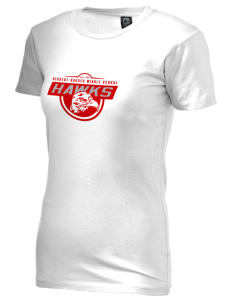 Herbert Hoover Middle School Hawks Alternative Women's Basic Crew T-Shirt