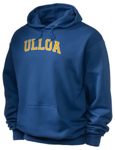 Ulloa Elementary School Sharks Holloway Men's 50/50 Hooded Sweatshirt