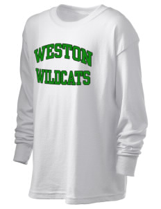 Weston Elementary School Wildcats Kid's 6.1 oz Long Sleeve Ultra Cotton T-Shirt