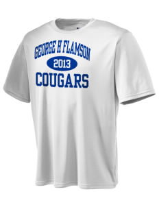George H Flamson Middle School Cougars Champion Men's Wicking T-Shirt