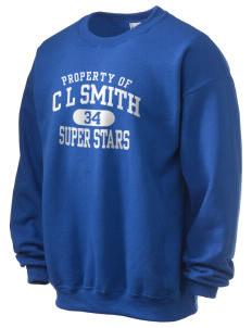 C L Smith Elementary School Super Stars Ultra Blend 50/50 Crewneck Sweatshirt