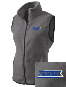 Shandon Senior High School Outlaws Embroidered Women's Fleece Vest