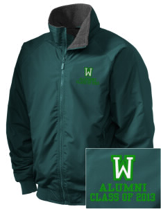 Washington Elementary School Wildcats Embroidered Holloway Men's Tall Jacket