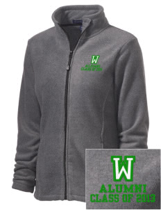 Washington Elementary School Wildcats Embroidered Women's Wintercept Fleece Full-Zip Jacket