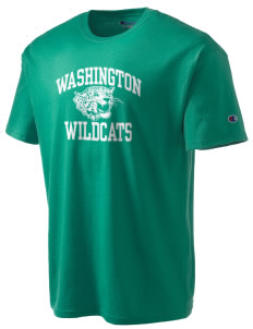 Washington Elementary School Wildcats Champion Men's Tagless T-Shirt
