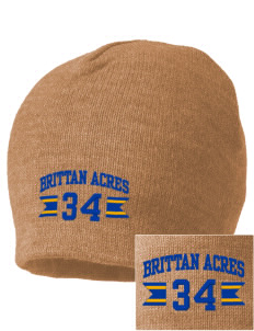 Brittan Acres Elementary School Bears Embroidered Beanie