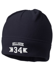 Hillside Elementary School Hawks Embroidered Fleece Beanie