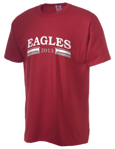 Arthur Hapgood Elementary School Eagles  Russell Men's NuBlend T-Shirt
