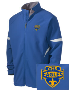 Central Continuation High School Eagles Holloway Embroidered Men's Radius Zip Front Jacket
