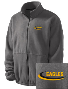 Central Continuation High School Eagles Embroidered Men's Fleece Jacket
