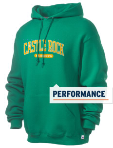 Castle Rock Elementary School Hornets Russell Men's Dri-Power Hooded Sweatshirt
