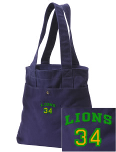 Columbia Elementary School Lions Embroidered Alternative The Berkeley Tote