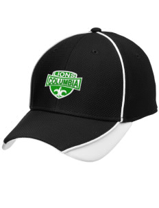 Columbia Elementary School Lions Embroidered New Era Contrast Piped Performance Cap