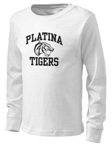 Platina Elementary School Tigers  Kid's Long Sleeve T-Shirt