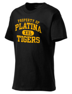 Platina Elementary School Tigers Kid's Lightweight T-Shirt