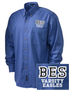 Butteville Union Elementary School Eagles Embroidered Men's Twill Shirt