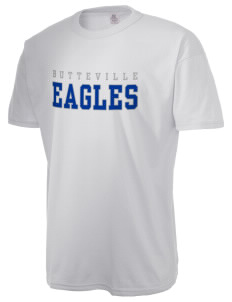 Butteville Union Elementary School Eagles  Russell Men's NuBlend T-Shirt