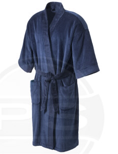 Butteville Union Elementary School Eagles Embroidered Terry Velour Robe