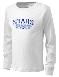 Crescent Elementary School Stars  Kid's Long Sleeve T-Shirt