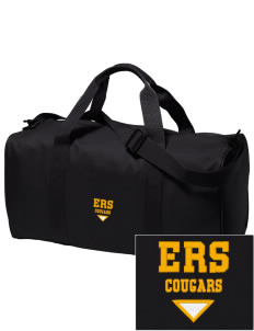 E Ruth Sheldon Elementary School Cougars Embroidered Holloway Duffel Bag