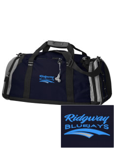 Ridgway School Bluejays Embroidered OGIO All Terrain Duffel