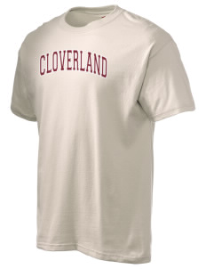 Cloverland Elementary School Cougars Hanes Men's 6 oz Tagless T-shirt
