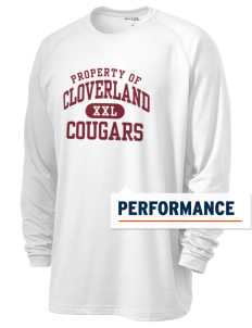 Cloverland Elementary School Cougars Men's Ultimate Performance Long Sleeve T-Shirt