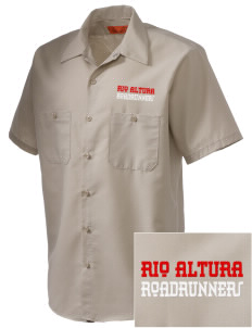 Rio Altura Primary School Roadrunners Embroidered Men's Cornerstone Industrial Short Sleeve Work Shirt