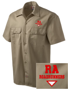 Rio Altura Primary School Roadrunners Embroidered Dickies Men's Short-Sleeve Workshirt