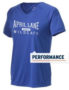 April Lane Elementary School Wildcats Holloway Women's Zoom Performance T-Shirt