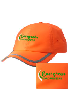 Evergreen Elementary School Roadrunners  Embroidered Safety Cap