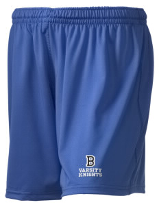 "Bryte School Knights Embroidered Holloway Women's Performance Shorts, 5"" Inseam"