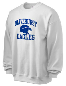 Olivehurst Elementary School Eagles Ultra Blend 50/50 Crewneck Sweatshirt