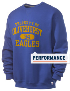 Olivehurst Elementary School Eagles  Russell Men's Dri-Power Crewneck Sweatshirt