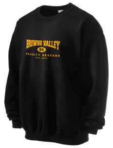 Browns Valley Elementary School Beavers Ultra Blend 50/50 Crewneck Sweatshirt
