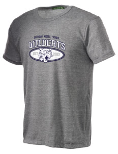 Sheridan Middle School Wildcats Alternative Men's Eco Heather T-shirt