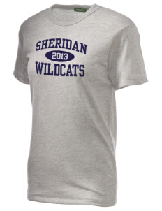 Sheridan Middle School Wildcats Alternative Unisex Eco Heather T-Shirt