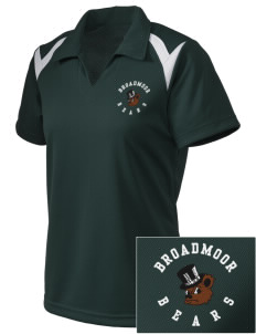 Broadmoor Elementary School Bears Embroidered Holloway Women's Laser Polo