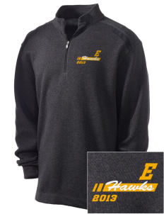 Explorer Elementary School Hawks Embroidered Nike Men's Golf Heather Cover Up