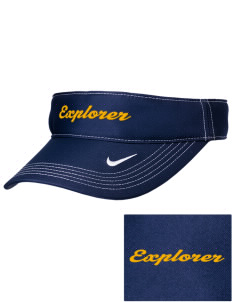 Explorer Elementary School Hawks Embroidered Nike Golf Dri-Fit Swoosh Visor