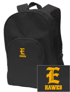 Explorer Elementary School Hawks Embroidered Value Backpack