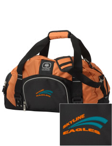 Skyline Elementary School Eagles  Embroidered OGIO Big Dome Duffel Bag