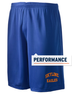 "Skyline Elementary School Eagles Holloway Men's Speed Shorts, 9"" Inseam"